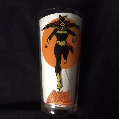Batgirl Pepsi Glass 1976 Collectible Vintage Batman