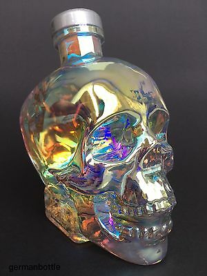 Crystal Head Aurora Vodka Dan Aykroyd full Wodka skull bottle 40%vol. 700ml