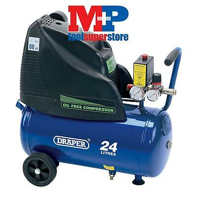 Draper 24978 24L Oil-Free Air Compressor (1.1kW)