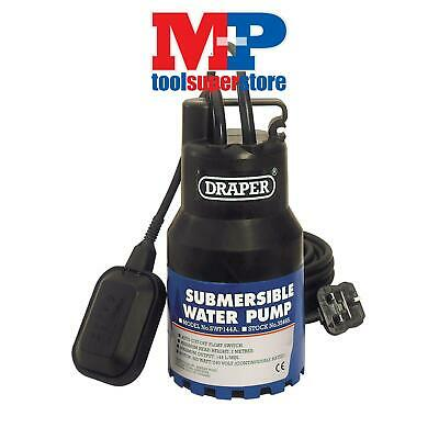 Draper 35465 144L/Min Submersible Water Pump with Float Switch (350W)