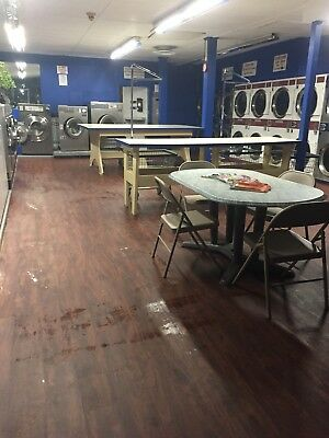 Commercial washers and dryers full laundromat equipment soap machine changers