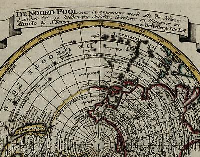 North Pole old map 1786 America California as an Island myth Sangihe Sulawesi