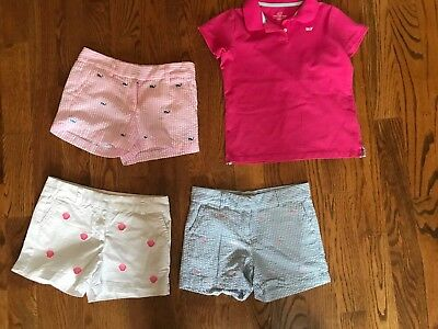 Girl's VIneyard Vines Shorts and Top - Size 10-12