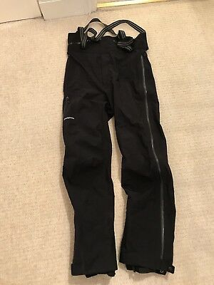 Patagonia Stretch Element H2NO Salopettes- never been worn- Black- size Large