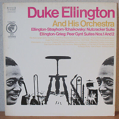 DUKE ELLINGTON - Nutcracker Suite / Peer Gynt Suites Nos. 1 an 2 - 1980/USA - LP