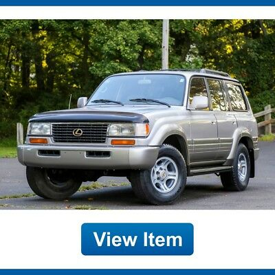 1996 Lexus LX Base Sport Utility 4-Door 1996 Lexus LX 450  LX450 3rd ROW Tow Package CARFAX Land Cruiser FJ80