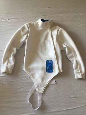 Childs Blades Brand UK Fencing Jacket 350N Level 1 - 3 weapon size 134 age appr