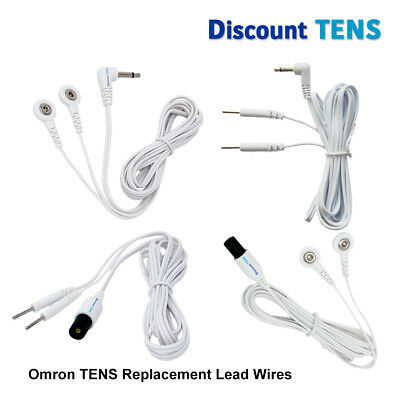 Omron Compatible Lead Wires - High Quality TENS Replacement Lead Wires