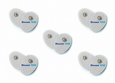 TENS Electrodes - Premium Quality Small Replacement Pads for TENS Units - 5 Pair