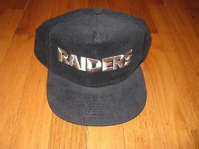 Vtg Los Angeles Raiders Oakland Raiders Snapback Hat