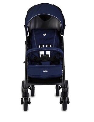 New In Box Joie Brisk LX Stroller Including Footmuff &Rain Cover Midnight Navy