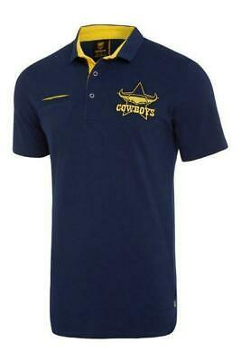 North Queensland Cowboys NRL 2018 Classic Cotton Polo Shirt Sizes S-5XL! S18