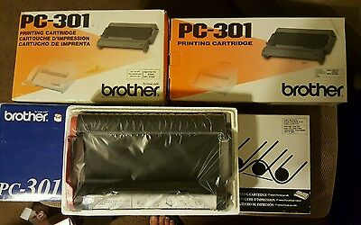 Brother PC-301  Printing Cartridge LOT OF 6