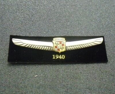1940 Cadillac Pin Crest Lapel Hat Emblem Logo From Licensed Gm Collector Set