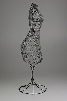 "16"" Wire Dress Form Mannequin"
