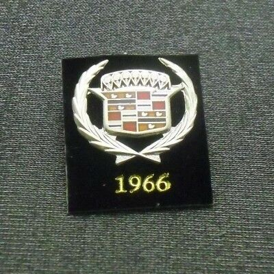 1966 Cadillac Pin Crest Lapel Hat Emblem Logo From Licensed Gm Collector Set
