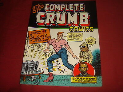 THE COMPLETE CRUMB COMICS Vol. 15 Fantagraphics Books 2001