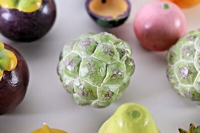 Beautiful Decorative Hand painted Wooden Fruit - 22 Pieces - Free Shipping
