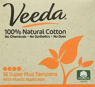 Veeda Tampon with Applicator - Super Plus- 16 ct