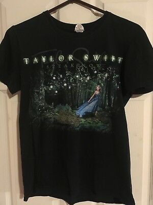 "Taylor Swift - ""Speak Now"" 2011 concert shirt, size small previously worn"