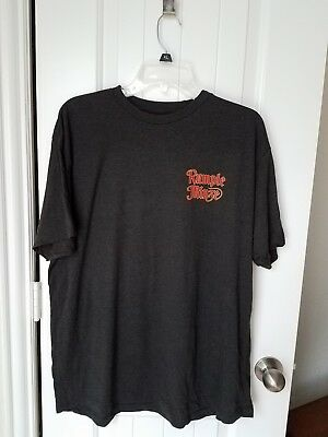 RUMPLE MINZE LIQUEUR  T-Shirt men's X Large  black with logos front back