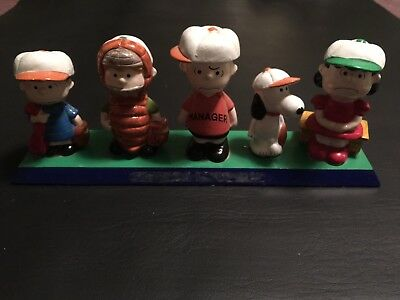 Vintage Snoopy And Peanuts Gang Baseball Team