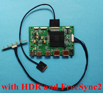 4K HDR Free Sync2 HDMI DP Mini Driver Board for 15.6inch 3840x2160 LQ156D1JW31