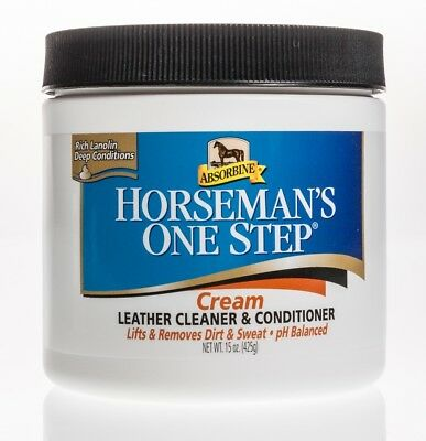 Absorbine Horseman's One Step Leather Cleaner & Conditioner 15 oz