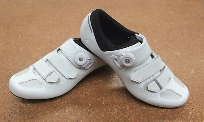Specialized Audax Carbon Road Bike Cycling Shoes 44 White