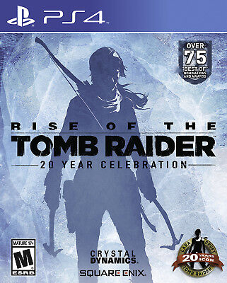 Rise of the Tomb Raider: 20 Year Celebration (Sony PlayStation 4) New+Sealed