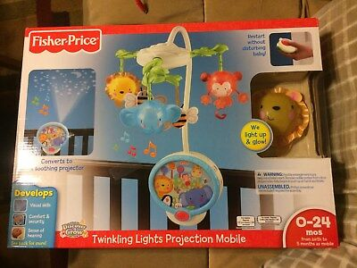 """Fisher-Price Discover """"n Grow Twinkling Lights Projector Mobile"""