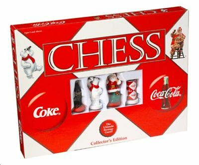 COCA-COLA Chess Board Game