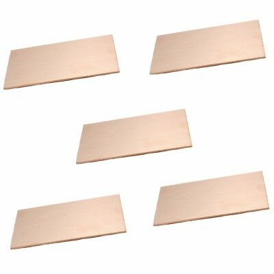 5PCS 7*10CM Copper Clad Laminate Board Test Board PCS Board Single Side Copper