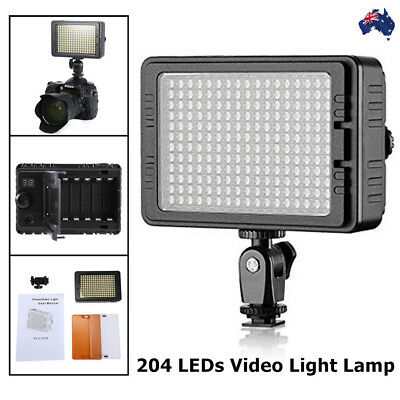 176 LED 11W 1200LM Video Light Lamp Dimmable For DSLR Camera Video Camcorder