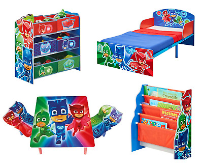 Choose from NEW P J Masks Kids Furniture, Bookcase, Storage, Toddler Bed & More