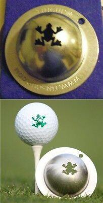 1 only TIN CUP GOLF BALL MARKER - RIP IT   - EASY TO DO
