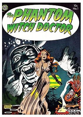 THE PHANTOM WITCH DOCTOR No.1 - Facsimile Comic