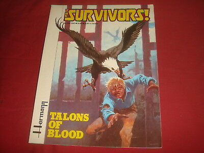 THE SURVIVORS Vol. 1 Western Graphic Novel Fantagraphics 1982 VF