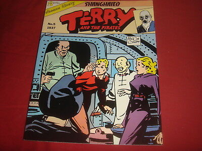 TERRY AND THE PIRATES Vol. 5 1937 Shanghaied! Flying Buttress 1987 NM