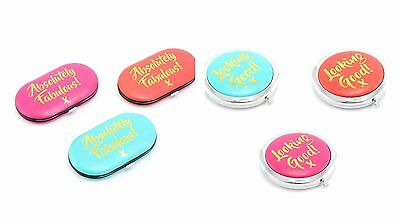 Absolutely Fabulous Manicure Set / Looking Good Compact Mirror Cosmetic Gift