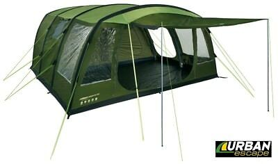 Urban Escape 6 Man Inflatable Tent for Repair or Spares  sc 1 st  PicClick & TRESPASS Go Further 6 Man Tent with Carpet - Hydrostatic Head ...