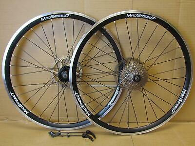 "QR 26"" 27.5""(650b) 29er MTB Bike Front Rear Wheel Shimano/Sram 7/8/9/10 Speed"