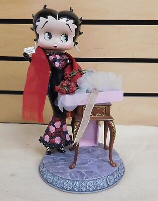 "2007 BETTY BOOP 9.5"" Display THINKING OF YOU Danbury Mint"
