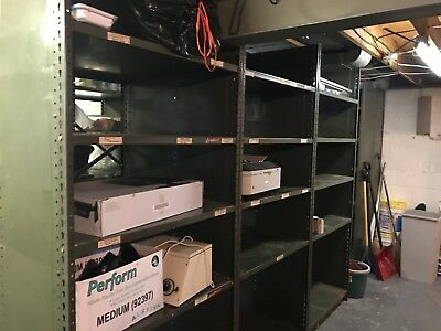 Commercial Heavy Duty Metal Storage Shelving Sturdy Industrial Warehouse