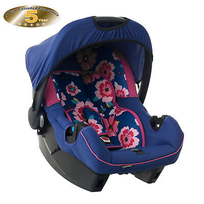 New Obaby Summer Burst Car Seat Childs Infant Car Seat 0 - 13Kg