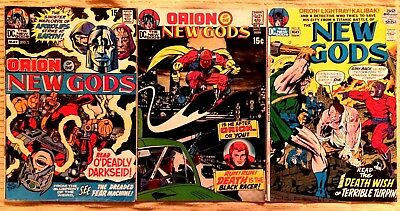 The New Gods- Vol. 1 (DC) - Jack Kirby Covers and Art !
