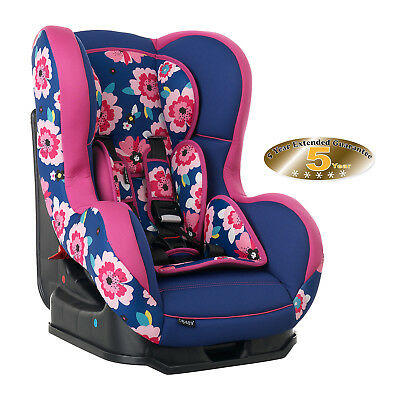 New Obaby Summerburst Group 0/1 Car Seat 0 - 4 Years Approx 0-18Kgs