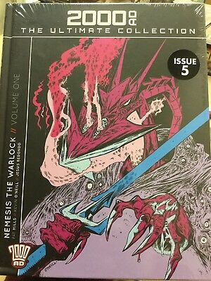 Hachette Graphic 2000Ad Ultimate Collection Vol 5 Nemesis The Warlock New Sealed