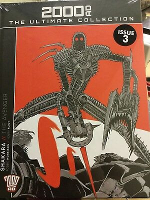 Hachette Graphic 2000Ad Ultimate Collection Vol 3 Shakara - New Sealed
