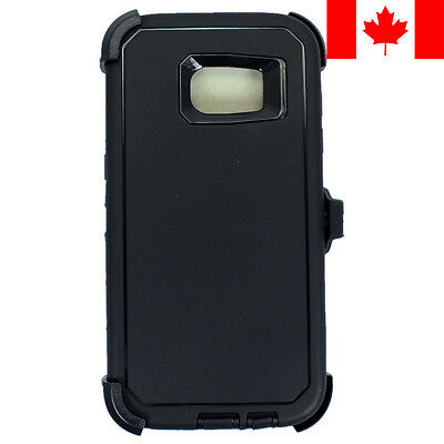 Case Defender and Holster Belt Clip For Samsung Galaxy S7